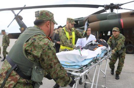 沖縄の陸自が急患輸送訓練 間もなく1万人突破