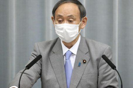 菅氏、記者会見で初めてマスク姿「感染防止にしっかり対応」