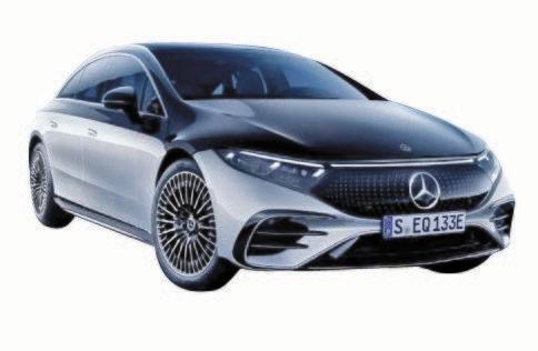 ベンツの新型EV「EQS」