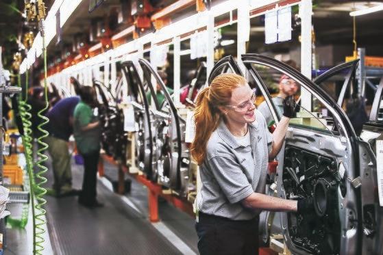 現代自動車米アラバマ工場。[中央DB]