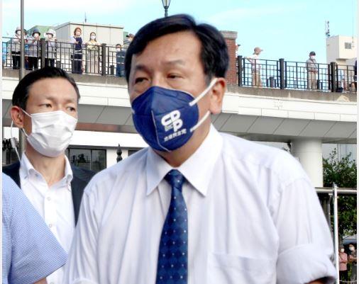 街頭演説に立った立民・枝野代表が東京8区の件での不満を聴衆にぶちまけてしまった模様 1